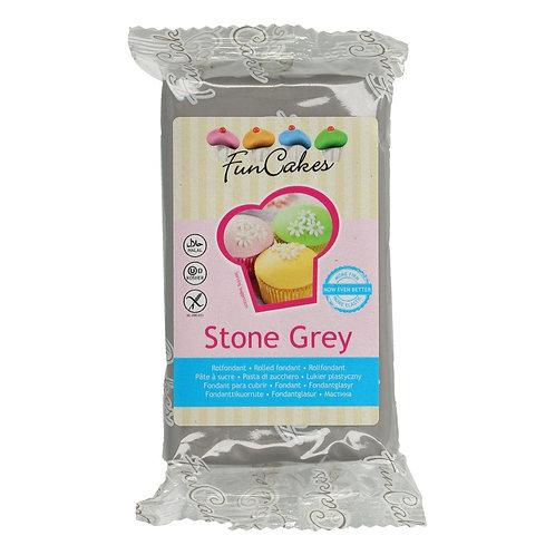 FunCakes Rolfondant - Stone Grey 250g