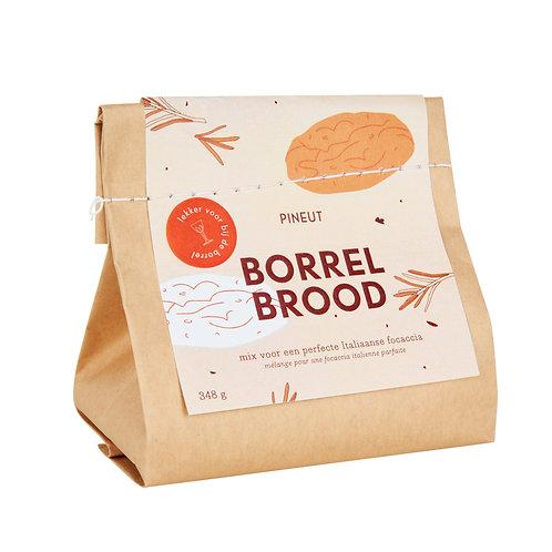 Pineut -Borrelbrood Focaccia