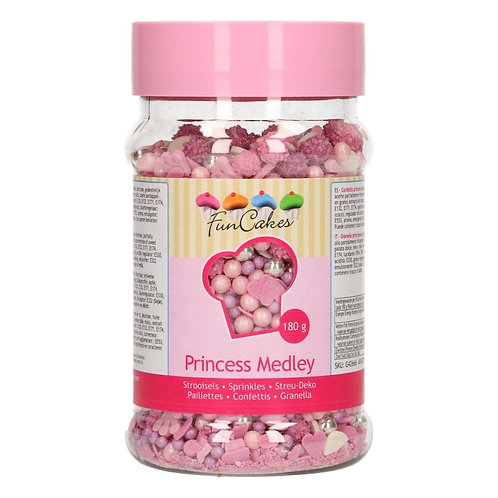 FunCakes Sprinkle Medley - Princess 180g