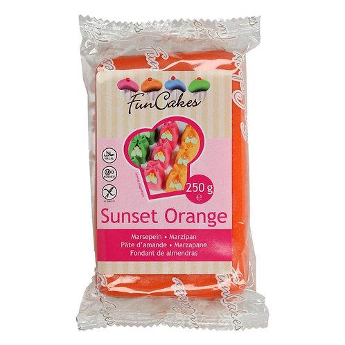 FunCakes Marsepein - Sunset Orange 250g