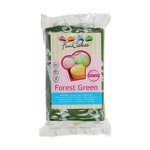FunCakes Rolfondant - Forest Green - 250g