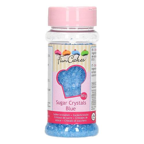 FunCakes Gekleurde Suiker - Blauw 80g