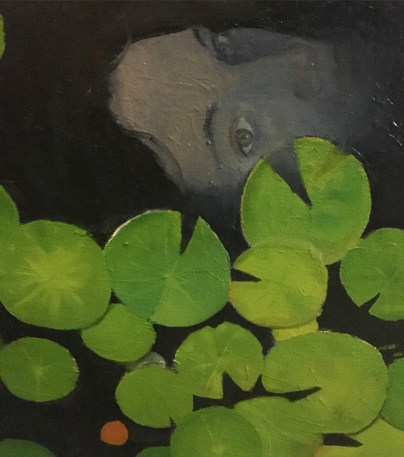 Detail from an Oil painting