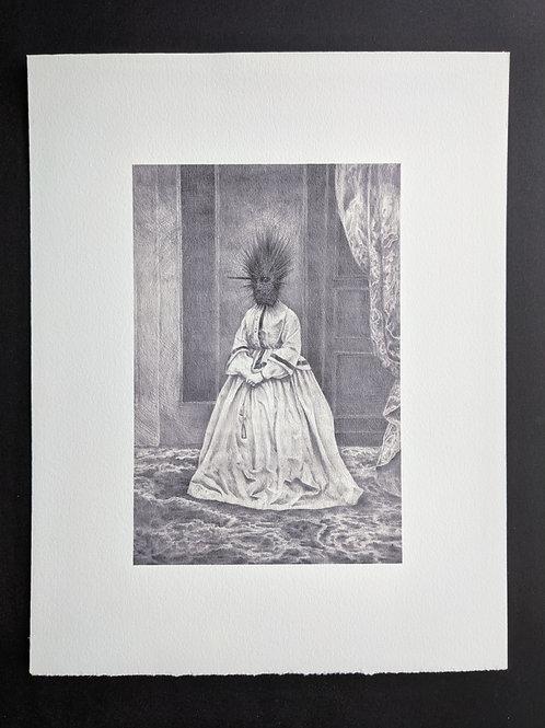 Lady Bury Art Print