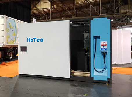 H2Tec Exhibits for First Time