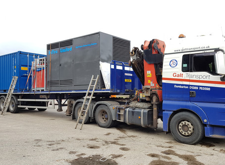 H2Tec's First HRS Leaves Wallyford For London