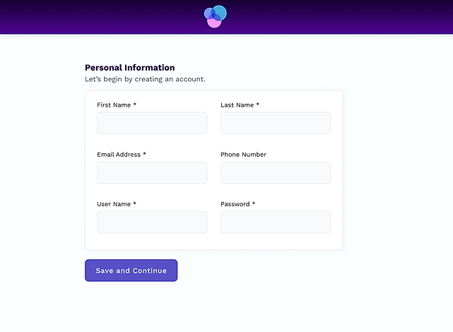 Add Personal Information