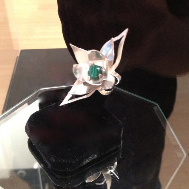 Lotus Flower Bomb Ring