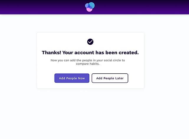 Account Created