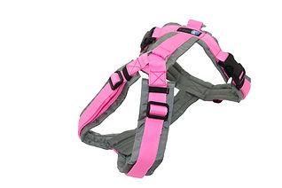 annyx Sonderfarbe Brustgeschirr Fun grau rosa.jpeg