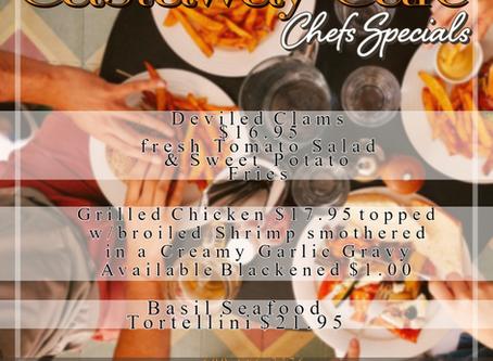 Sunday Night Dinner Specials