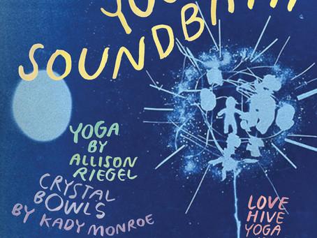 Yin Yoga Crystal Bowl Soundbath at Love Hive Yoga / Saturday, July 6, 2019,  7-9 pm
