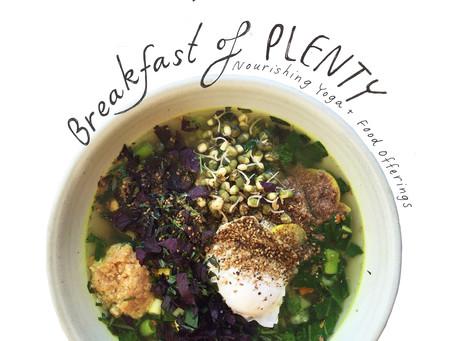 Breakfast of Plenty