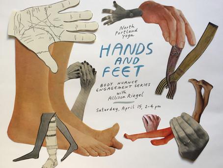 Hands + Feet Workshop | Body Nuance Engagement Series