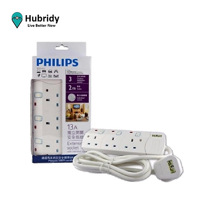 Philip 3 way extension cable