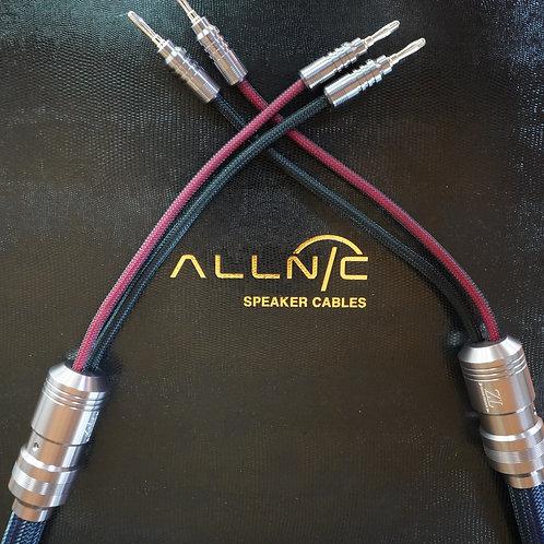 Allnic ZL-8000 Silver Speaker Cable