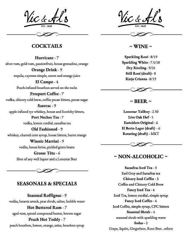 Vic and Als Cocktail Menu Printable 1_2