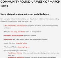 Community Round Up