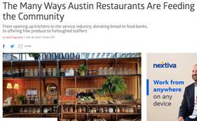 The Many Ways Austin Restaurants Are Feeding the Community