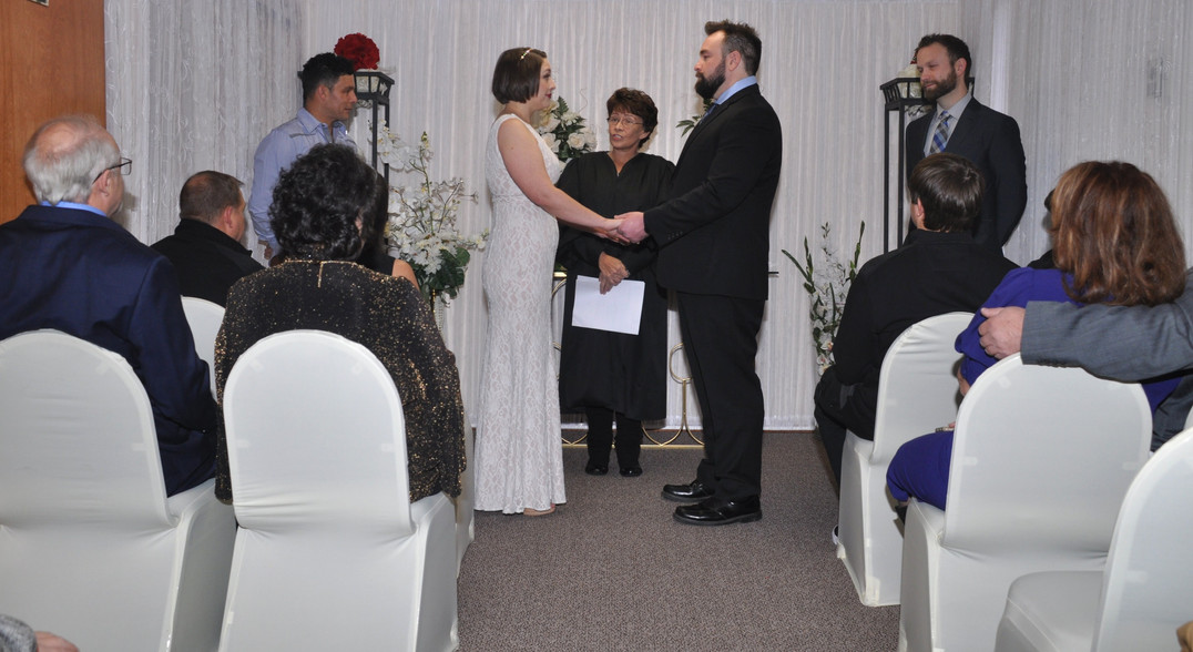 Couple at Alter