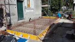 platee in cemento armato