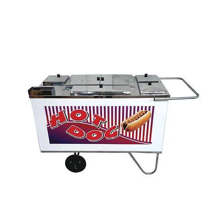 Carrinho de Hot Dog com Chapa CH 3 Alsa