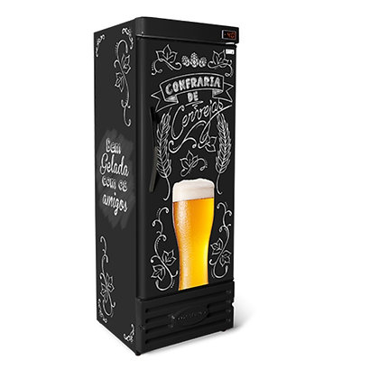Cervejeira Refrigerada Vertical 400L CRV400 Conservex