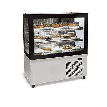 Balcão Refrigerado Vidro Reto Black Box BRX-100 Conservex