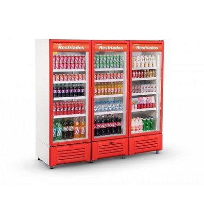 Expositor Refrigerado Visa Cooler 3 Portas Refrimate