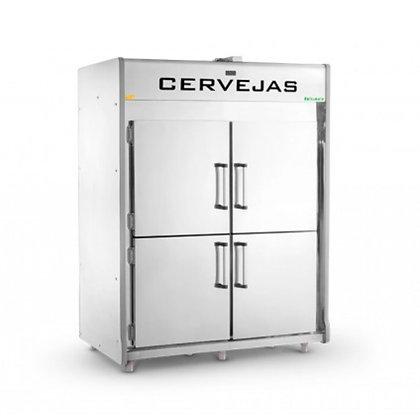 Cervejeira Inox 4 Portas VCCSP1800 Refrimate