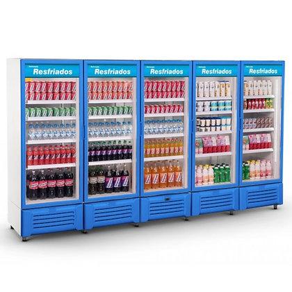 Expositor Refrigerado Visa Cooler 5 Portas Refrimate