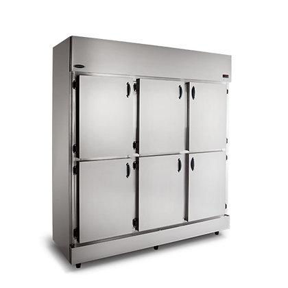 Geladeira Comercial 6 Portas Inox RC-6 Conservex