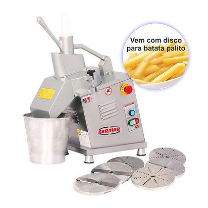 Processador de Alimentos Inox com 7 Discos Biv BM125 Bermar