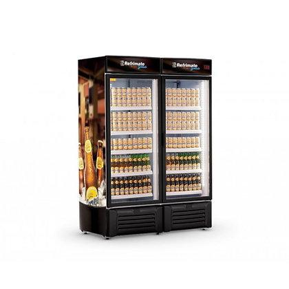 Cervejeira 1300 Litros 2 Portas de Vidro Refrimate  Marca: Refrimate