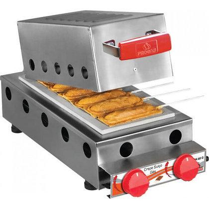 Máquina de Crepe Suíço 6 Cavidades PRK 60 G Style