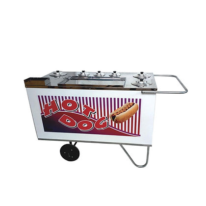 Carrinho de Hot Dog com Espaço para Sanduicheira CH 4 Alsa