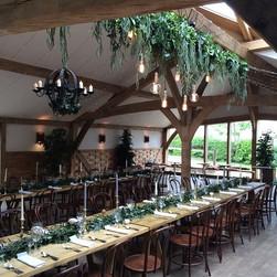 Facebook - Today's wedding installation