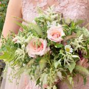 Pink Summer Bridal Bouquet