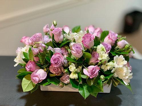 Lavender & Green Full Arrangement