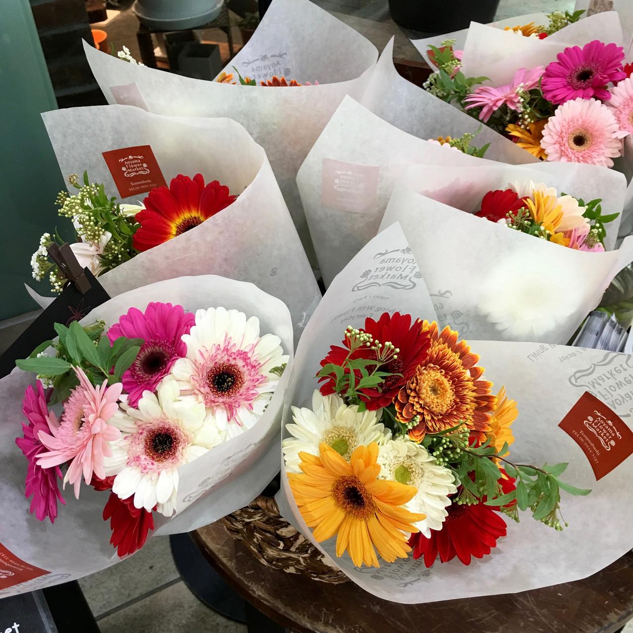 Street Flowers in Osaka, Japan
