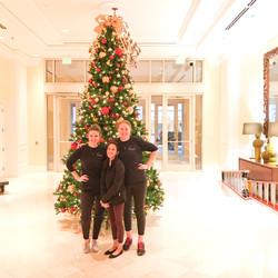 Sugar Land Marriott Christmas Decor