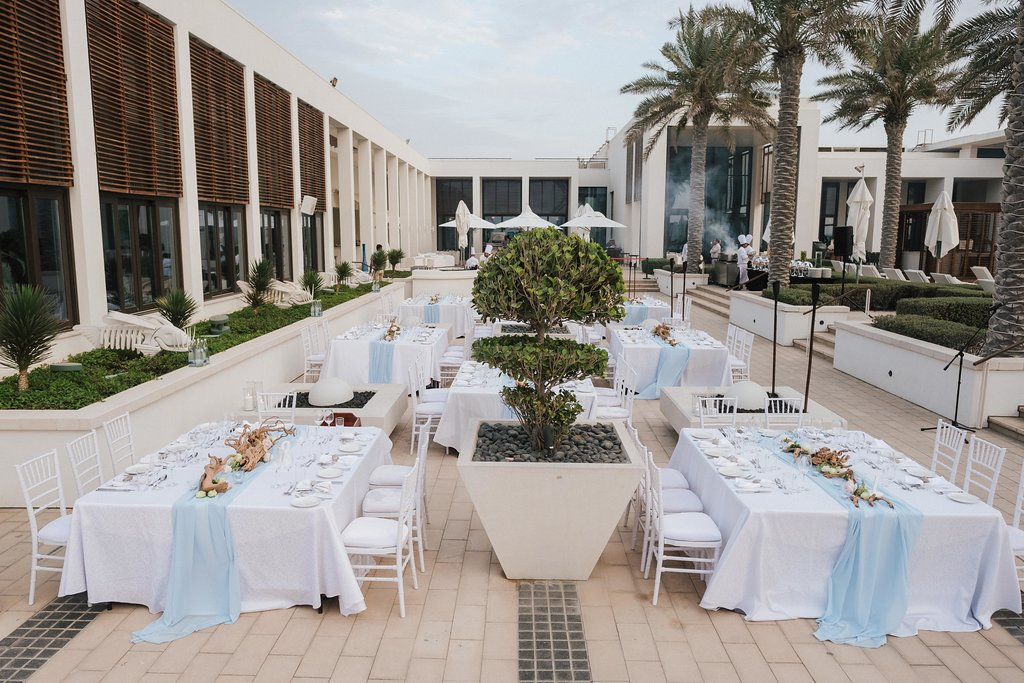 Saadiyat Beach Club Wedding