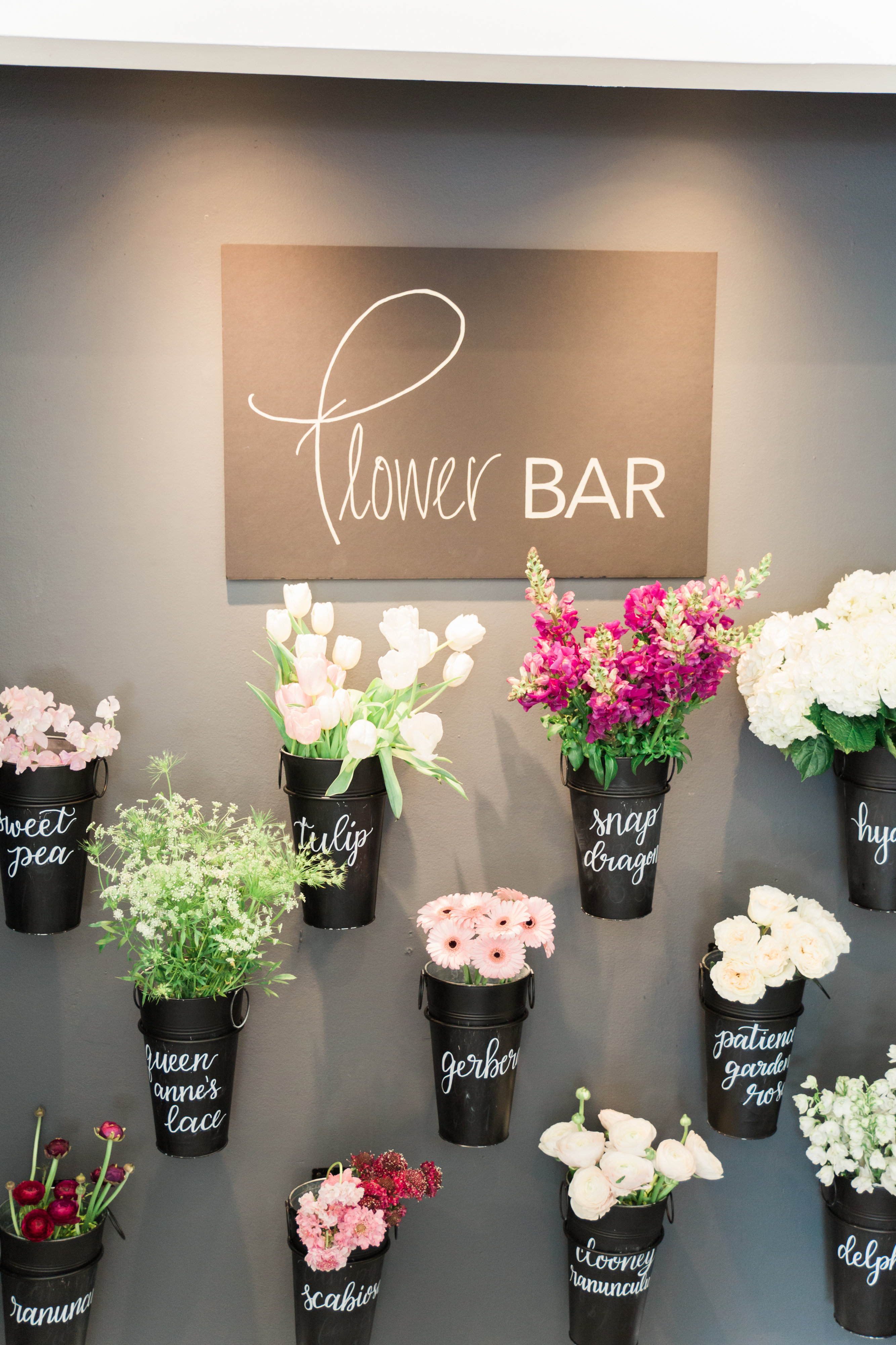 Build Your Own Bouquet Flower Bar