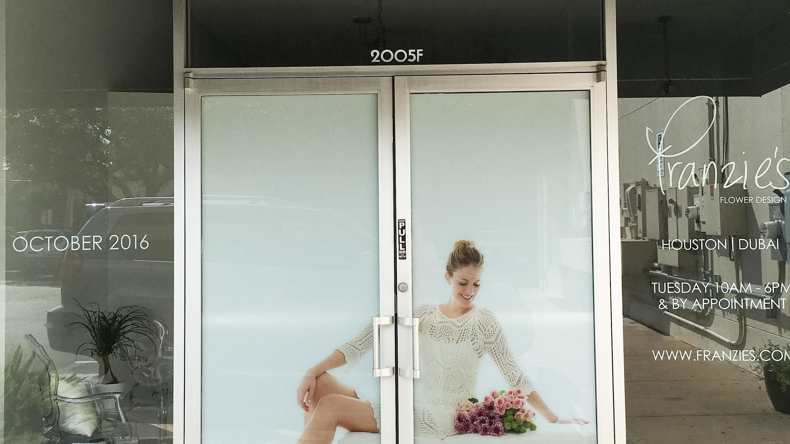 Franzie's Flower Design Storefront in the River Oaks Shopping Center located in Houston, TX.