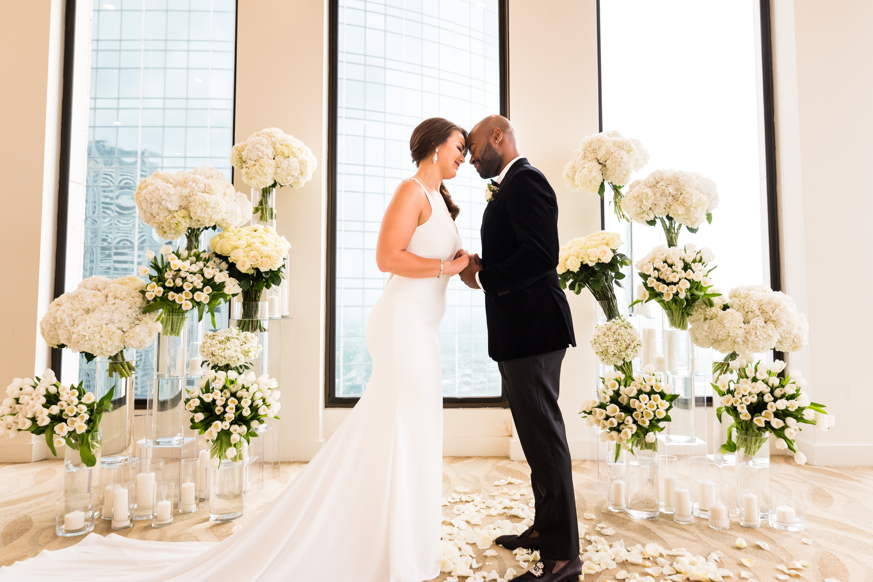 The Houston Club Wedding
