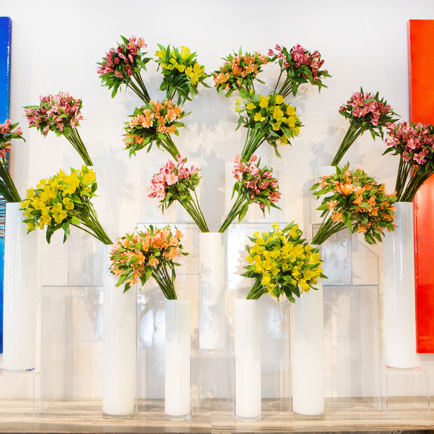 Franzie's Flower Design, a hotel florist. Featured at the JW Marriott Houston Downtown.