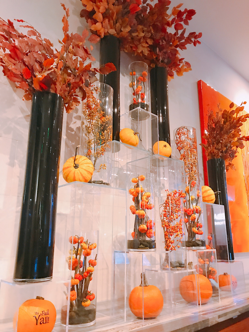 Fall install at the JW Marriott Houston Downtown