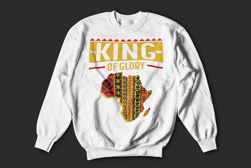 King of Glory Crewneck-Men's