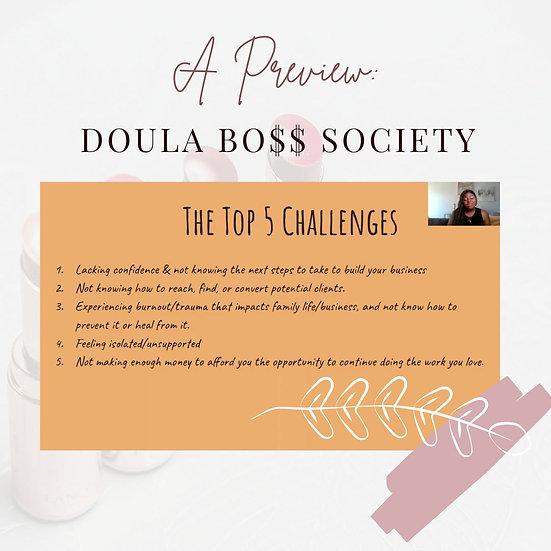 Doula Boss Society