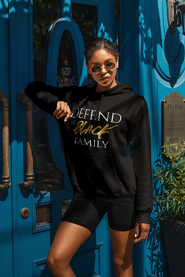 Defend The Black Family Hoodie